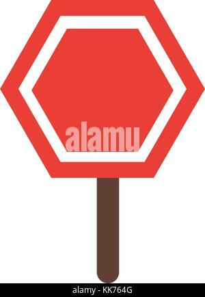 Road sign symbol - Stock Photo