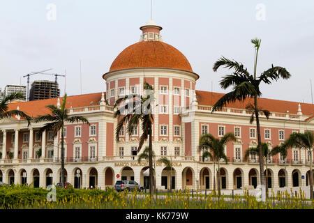 National bank of Angola, Luanda Angola - Stock Photo