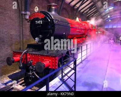 Harry Potter World, Warner Bros Studio Tour, Leavesden, London, UK.