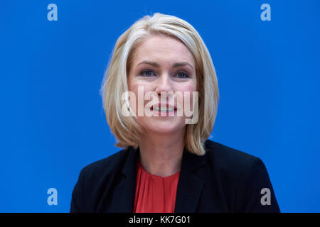Berlin, Germany, Manuela Schwesig, SPD, Federal Minister of the Family - Stock Photo
