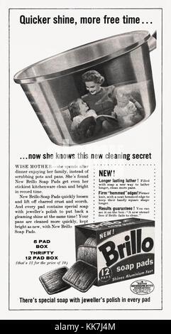 1950s Advertising Retro Advert From Original Old Vintage