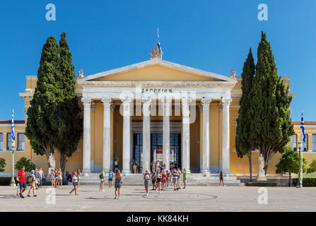 The Zappeion, Athens, Greece - Stock Photo