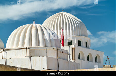 Djama Amor-Abbada Mosque in Kairouan, Tunisia - Stock Photo
