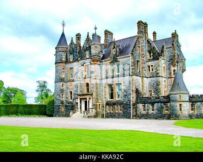 Blarney House near Blarney Castle, Co Cork, Ireland - Stock Photo