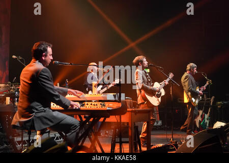 London, UK. 29th Nov, 2017. The Divine Comedy performing live on stage at the Hammersmith Apollo Eventim in London. - Stock Photo