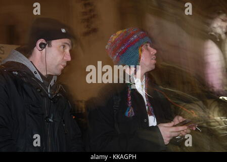 London, UK. 29th Nov, 2017. Lauri Love Appeal Against Extradition to the USA, Royal Court of Justice, Today. 29th - Stock Photo