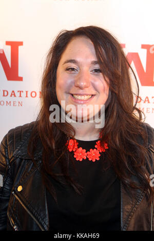 New York, NY, USA. 29th Nov, 2017. Comedian/Actress Liza Treyger attends the Ms. Foundation's 22nd Annual Comedy - Stock Photo