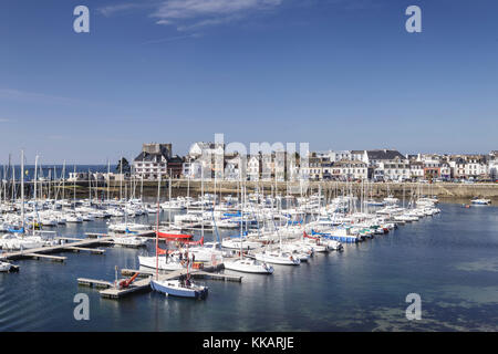 Concarneau, Finistere, Brittany, France, Europe. - Stock Photo