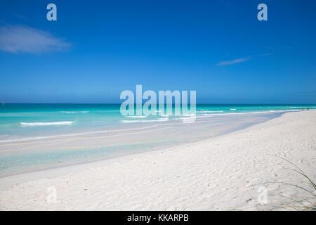 Playa Santa Maria, Cayo Santa Maria, Jardines del Rey archipelago, Villa Clara Province, Cuba, West Indies, Caribbean, - Stock Photo