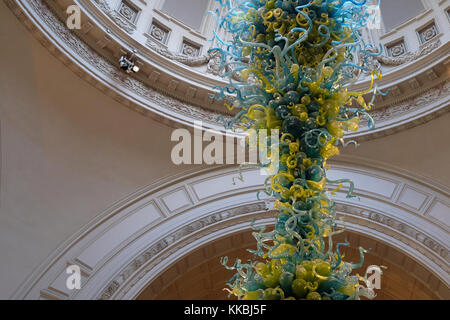 Glass Sculpture By Glass Artist Dale Chihuly, Hanging Under Central Domed  Window At Victoria U0026