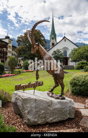Mayrhofen, Austria - Stock Photo