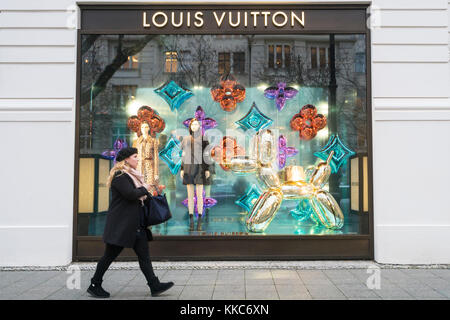 the louis vuitton retail store on the champs elysees in paris stock photo royalty free image. Black Bedroom Furniture Sets. Home Design Ideas