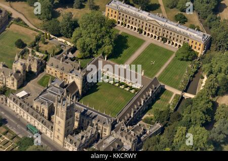 Oxford From The Air - Stock Photo