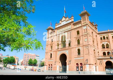 Las Ventas bullring. Madrid, Spain. - Stock Photo