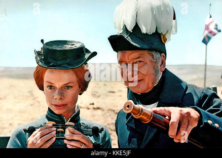 THE CHARGE OF THE LIGHT BRIGADE 1968 United Artists film with Jill Bennet as Mrs Fanny Duberly and John Geilgud - Stock Photo