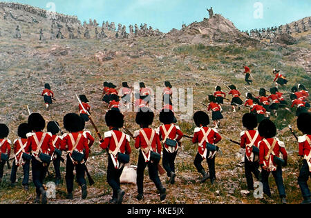 THE CHARGE OF THE LIGHT BRIGADE 1968 United Artists film. Highland troops attack a Russian position on the heights - Stock Photo