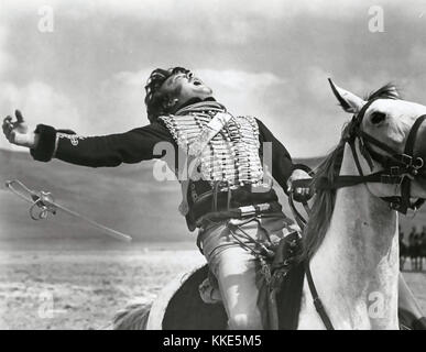 THE CHARGE OF THE LIGHT BRIGADE 1968 United Artists film with David Hemmings as Captain Louis Nolan - Stock Photo
