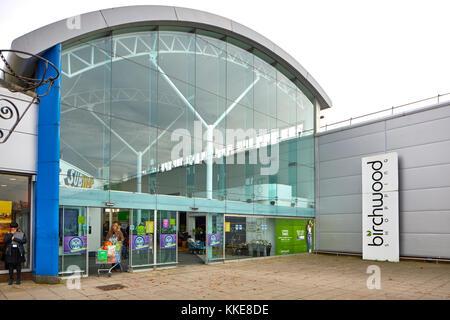 Burtonwood shopping centre in  Warrington - Stock Photo
