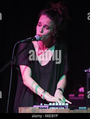 FORT LAUDERDALE, FL - APRIL 16: Chelsea Tyler performs at Revolution on April 16, 2015 in Fort Lauderdale, Florida - Stock Photo