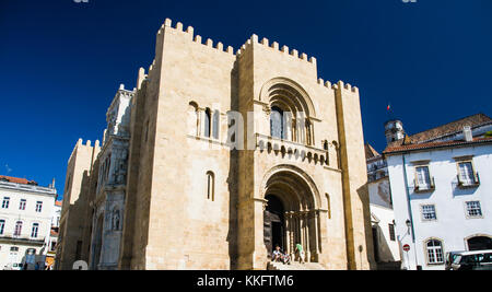 Coimbra  is a city and a municipality in Portugal - Stock Photo