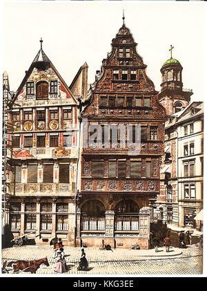 vintage travel photo postcard - Stock Photo