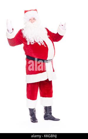 Real Santa Claus - Stock Photo