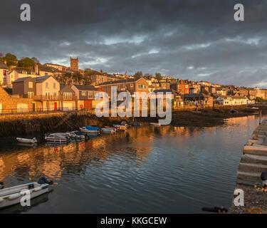 Falmouth Cornwall Englnad UK - Stock Photo