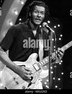 Chuck Berry Midnight Special 1973 - Stock Photo