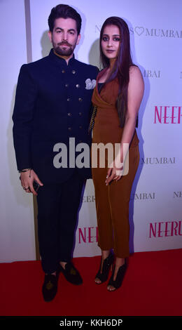 Mumbai, India. 30th Nov, 2017. Indian film actor Neil Nitin Mukesh attend the Popular ethnic brand Neeru's an exclusive - Stock Photo