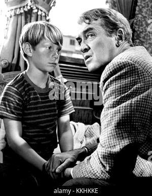 James Stewart Billy Mumy Dear Brigitte 1965 - Stock Photo