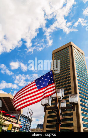World Trade Center Building in Baltimore - Stock Photo