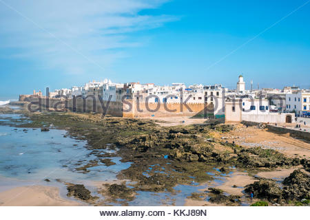 Morocco, Marrakesh-Safi (Marrakesh-Tensift-El Haouz) region, Essaouira. Medina old town, protected by 18th-century - Stock Photo