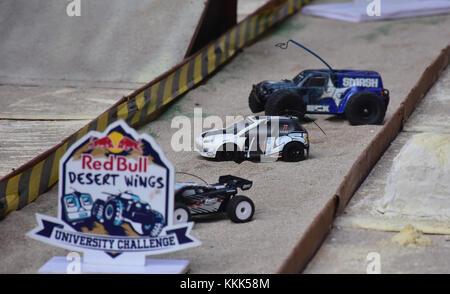 Mumbai, India. 30th Nov, 2017. Red Bull Desert Wings University Challenge, a highly competitive, mini 'Dakar Race' - Stock Photo