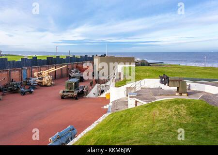 The Heugh Battery Museum, Hartlepool, County Durham UK - Stock Photo