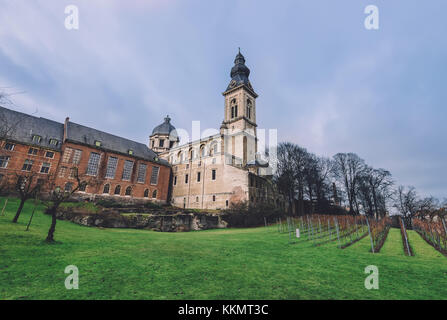 Saint Peter Benedictine Abbey in Ghent - Stock Photo