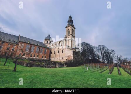 Saint Peter Benedictine Abbey in Ghent - Stock Photo