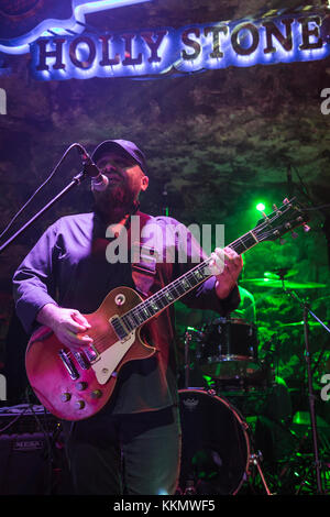 Antalya, Turkey - March 31,2017: Turkish band Pilli Bebek, performs live on stage during a concert. - Stock Photo