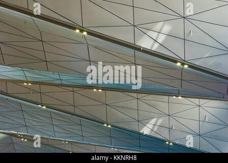Airport Terminal Roof Abstract Architecture Detail