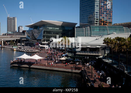 icc sydney darling harbour sydney new south wales australia - Stock Photo