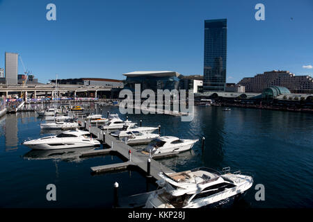 darling harbour sydney new south wales australia - Stock Photo
