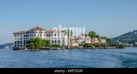 Isola Bella, a natural treasure made even richer by human intervention; it has always been one of the favourite - Stock Photo