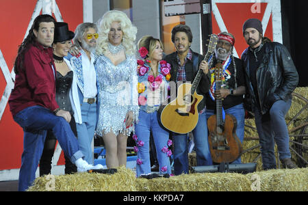 The Today Show Halloween in NYC Featuring: Billy Ray Cyrus Where ...