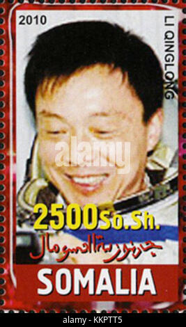 Li Qinglong 2010 Somalia stamp - Stock Photo