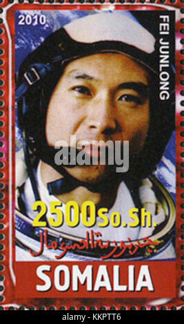 Fei Junlong 2010 Somalia stamp - Stock Photo