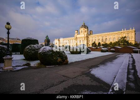 Austria, Vienna, Naturhistorisches Museum, Natural History Museum, exterior - Stock Photo