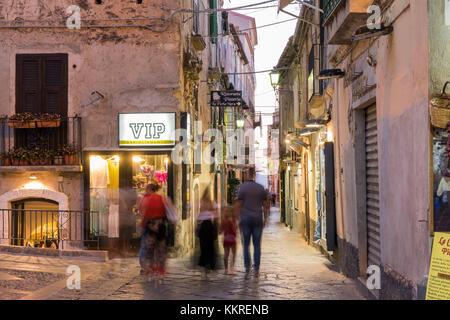 Tropea, province of Vibo Valentia, Calabria, Italy, Europe. - Stock Photo