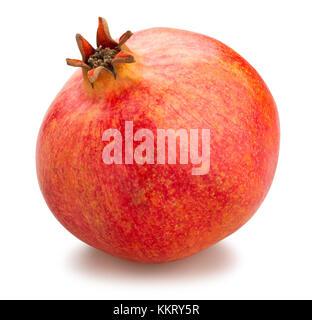 pomegranate path isolated - Stock Photo