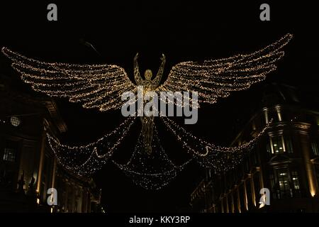 Christmas Walkabout in London 2017 - Stock Photo