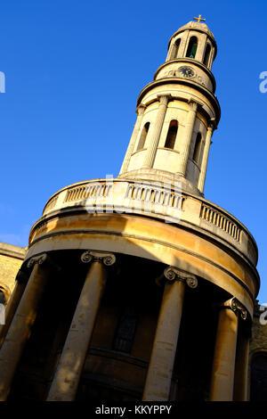 St Marys Church Wyndham Place London W1 - Stock Photo