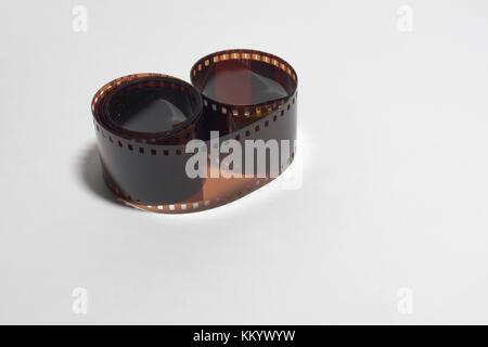 35mm negative developed photo film - Stock Photo